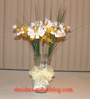 گل شكلاتی