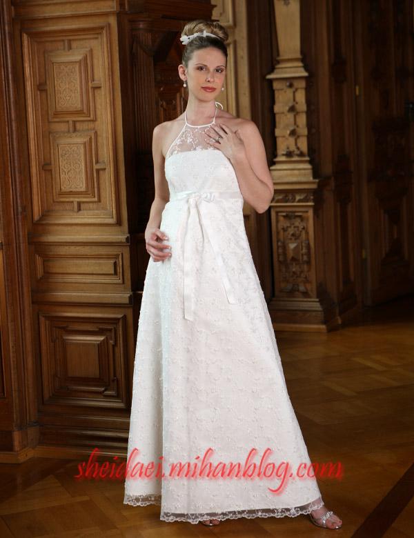لباس عروسهای باردار