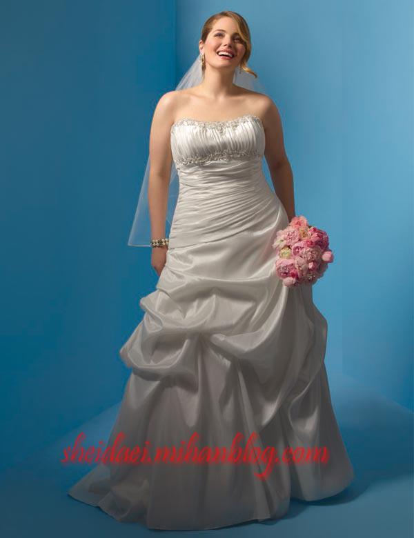 لباس عروسهای چاق